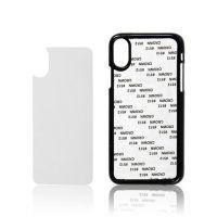Чехол для IPhone X пластик черный со вставкой