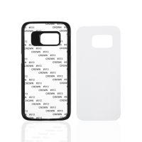 Чехол для Samsung S7, пластик черный со вставкой стандарт