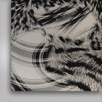 Фольга термотрансферная, сияние , 500мм x 50м