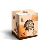 Коробка под кружку Индеец (500мл)