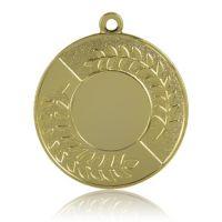 Медаль HB077 золото D50мм, D вкладыша 25мм