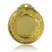 Медаль HB102 золото D50мм, D вкладыша 25мм