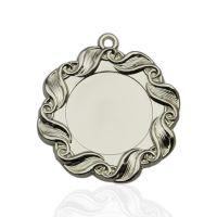 Медаль корпусная MK35b серебро D медали 45мм, D вкладыша 25мм