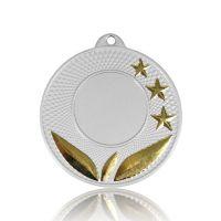Медаль SC102-50SG золото D50мм, D вкладыша 25мм