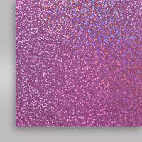Пленка термотрансферная, голографическая, фиолетовая, 500мм x 50м