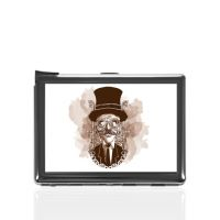 Портсигар с зажигалкой металл 80х105мм под полиграфическую вставку 65х88мм