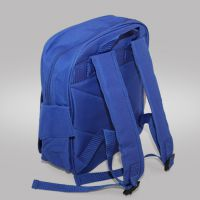 Ранец школьный с полем для печати, синий