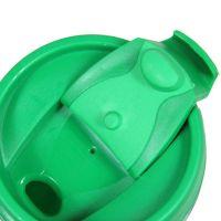 Термостакан пластик зелёный под полиграф вставку 350 мл